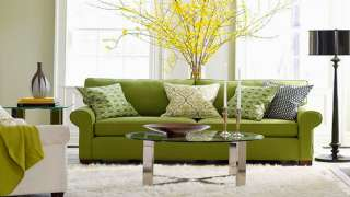 Yeşil Renk Oturma Grubu