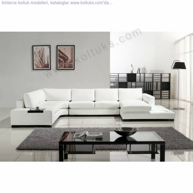 Beyaz Modern Oturma Grubu