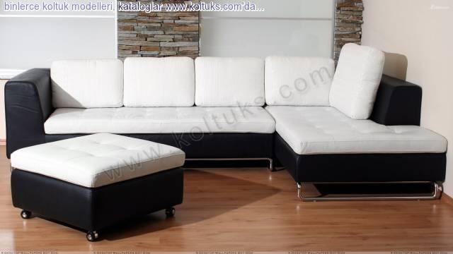 Beyaz Renk Modern Koltuk Takımı