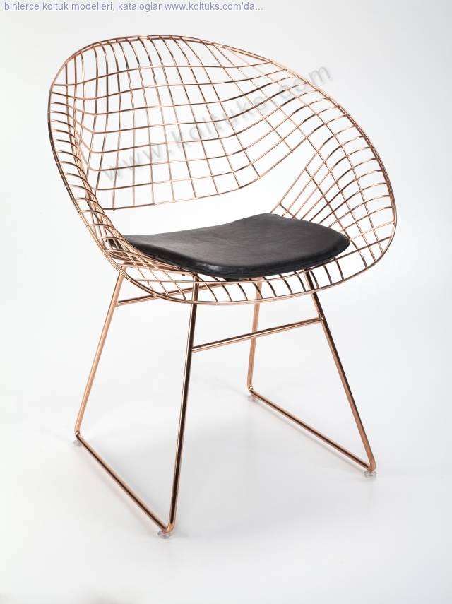 Hilal Metal Sandalye Minderli