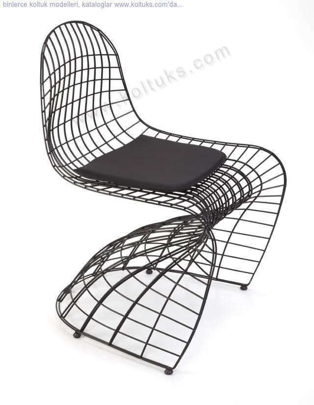 Kaftan Metal Sandalye Minderli