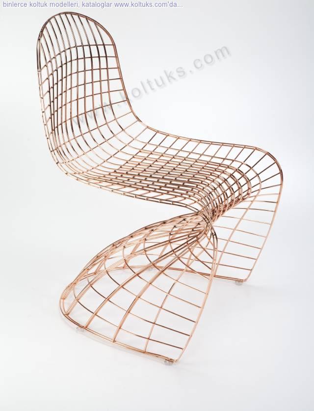 Kaftan Tel Sandalye