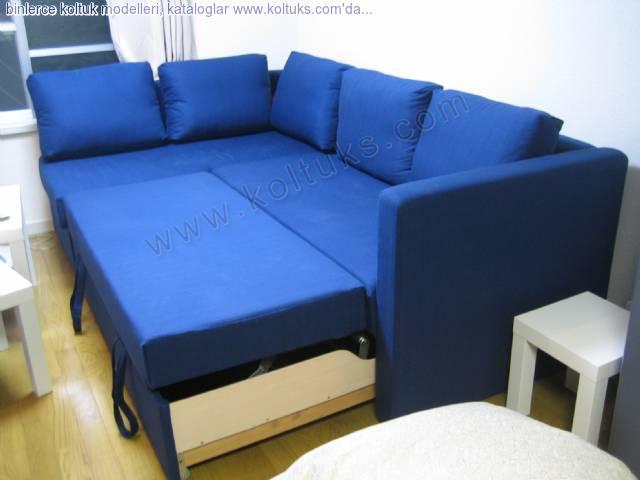 Mavi Köşe Koltuk Modeli