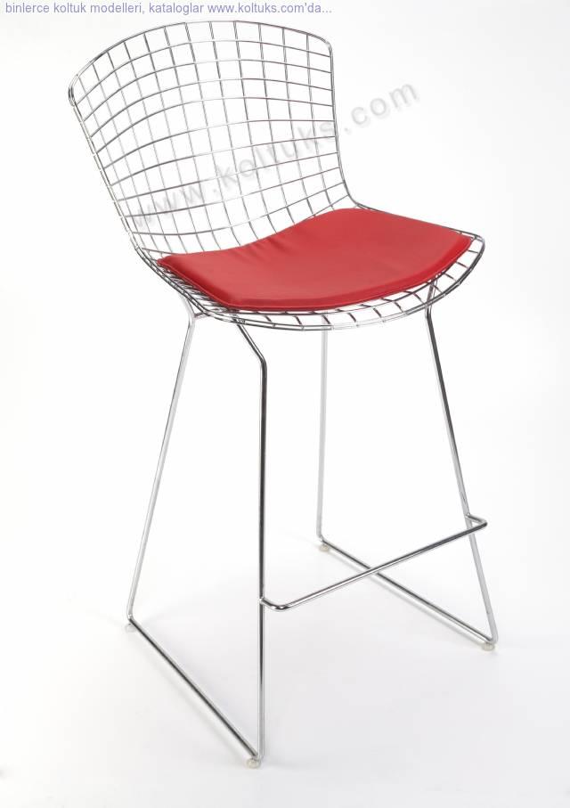 Metal Cim Sandalye Bar