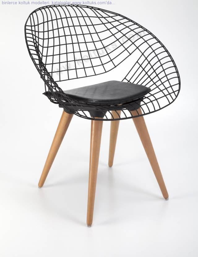 Metal Hilal Sandalye