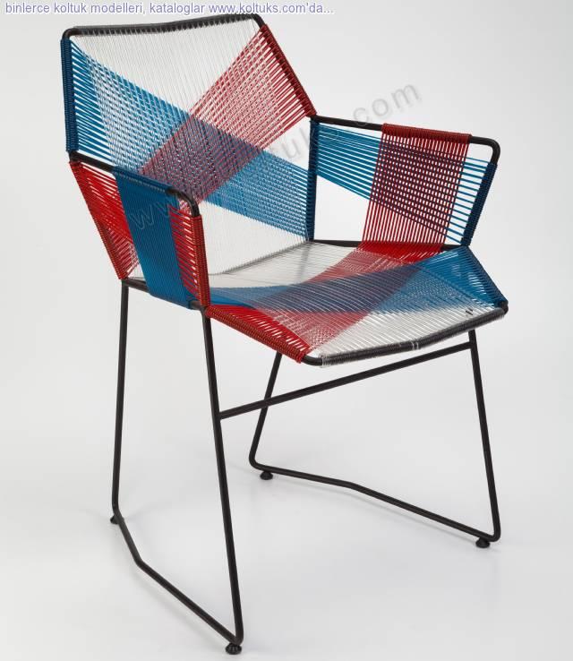Metal Sandalye Kollu