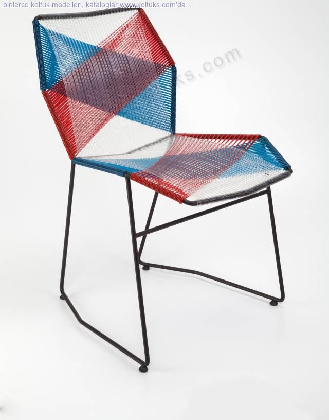 Metal Sandalye Sekizgen Kolsuz