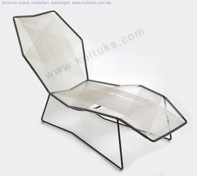 Metal Sandalye Şezlong