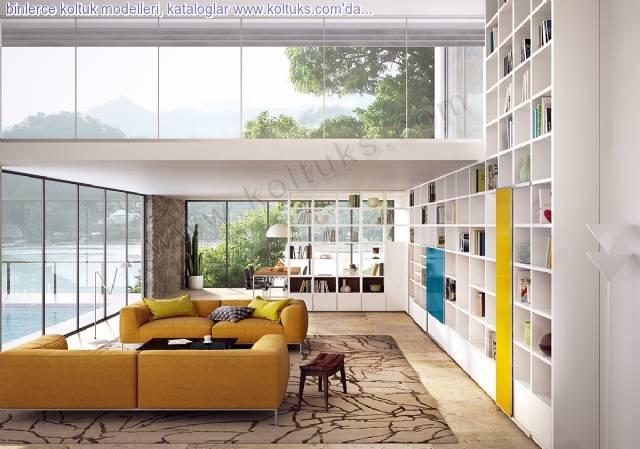 Modern Sarı Renk Koltuk Takımları