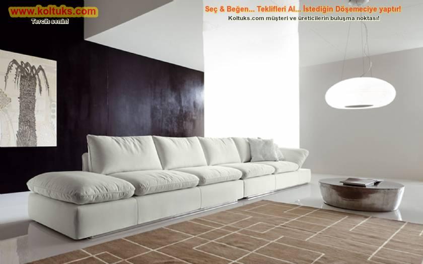 Dekoratif modern kanepe büyük ve zarif rahat koltuk