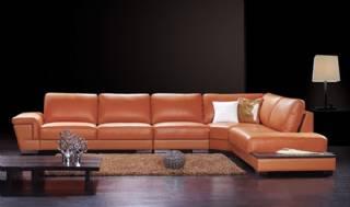 Modern L köşe koltuk takımı geniş ve büyük tasarım